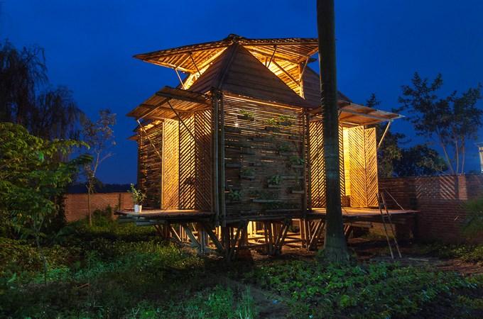 Ngôi nhà tre Việt 50 triệu giành giải thưởng thiết kế của Đức