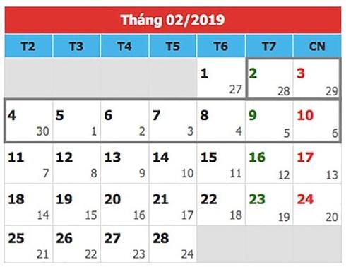 Nghỉ Tết Nguyên đán 2019: 9 ngày, nhiều hay ít?