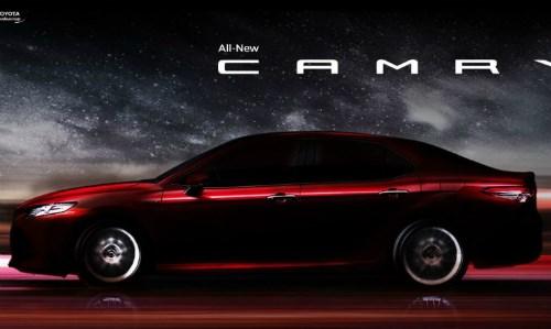 Toyota Camry 2018 bản Đông Nam Á sắp ra mắt