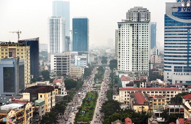 """Nhà cao tầng vẫn """"tăng tốc"""" trong nội đô không theo Luật Thủ đô"""
