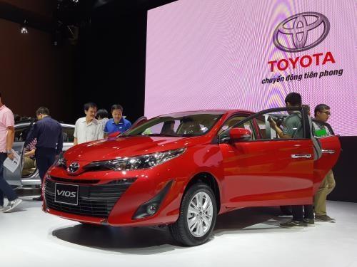 Nhiều ưu đãi cho khách hàng mua xe Toyota Vios