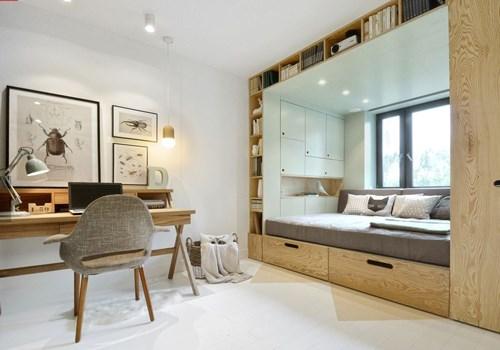 3 chi tiết nhỏ khiến căn phòng 14 m2 như rộng gấp đôi