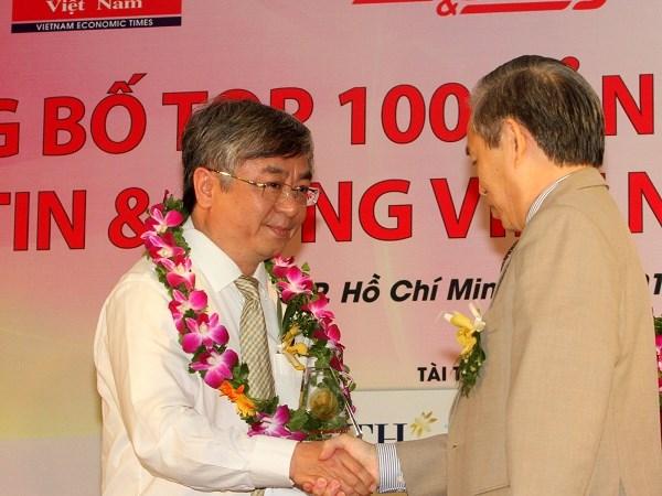 """""""Dịch vụ ngân hàng điện tử BIDV Online"""" lọt vào Top 100 sản phẩm dịch vụ Tin và Dùng 2012"""