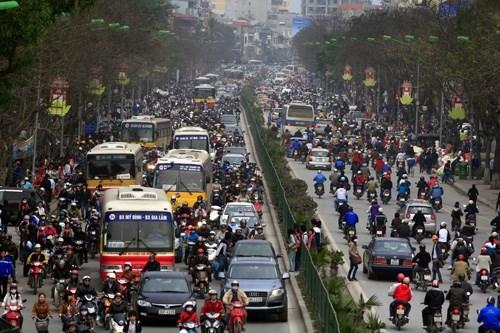 Hướng dẫn thu phí sử dụng đường bộ đối với xe mô tô