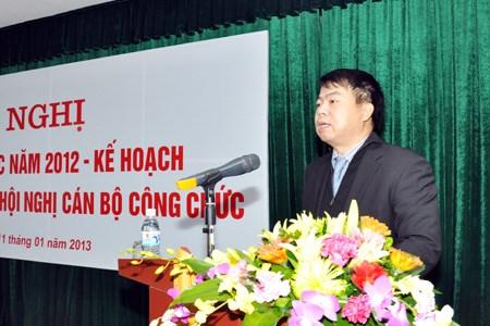 Văn phòng Bộ Tài chính tổ chức Hội nghị tổng kết công tác năm 2012 và phương hướng nhiệm vụ năm 2013