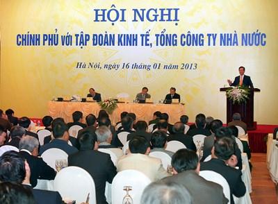 Thủ tướng yêu cầu quyết liệt tái cơ cấu doanh nghiệp nhà nước