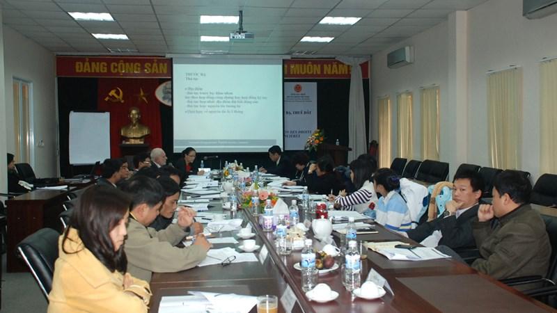 Cơ quan thuế Pháp và Việt Nam trao đổi kinh nghiệm quản lý thuế trước bạ và nhà đất