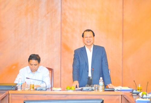 Ban cán sự Đảng Bộ Tài chính làm việc với tỉnh Quảng Ninh