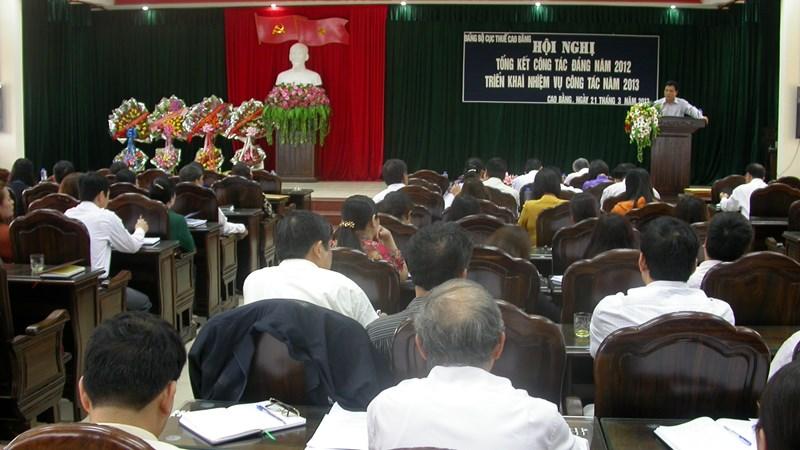 Cục Thuế Cao Bằng thực hiện giải pháp để khơi thông nguồn thu