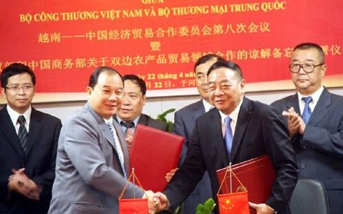 Việt - Trung quyết làm lành mạnh thương mại biên giới