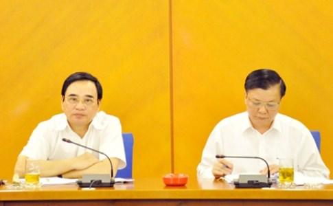 """Bộ Tài chính làm việc với TP. Đà Nẵng về tổng kết 10 năm thực hiện """"Xây dựng và phát triển thành phố Đà Nẵng trong thời kỳ công nghiệp hoá, hiện đại hoá đất nước"""""""