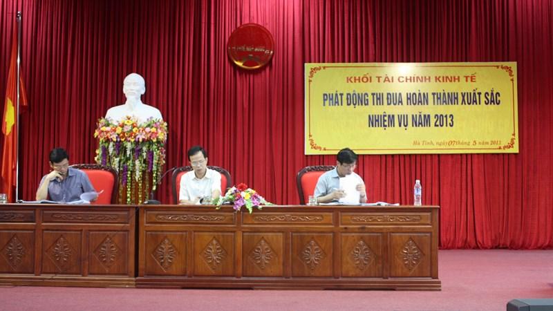 Cục Thuế Hà Tĩnh quán triệt các nội dung và kết luận của Hội nghị lần thứ 7