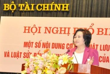 Bộ Tài chính tổ chức Hội nghị phổ biến Luật Lưu trữ và Luật Cư trú