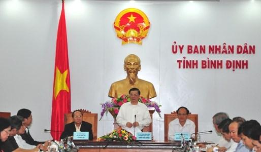 Bộ trưởng Đinh Tiến Dũng: Bình Định tiếp tục tạo động lực để phát triển bền vững