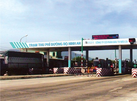 Quy định mức thu phí sử dụng đường bộ trạm Ninh An và Bàn Thạch