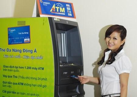 DongA Bank tăng cường hoạt động ATM trong dịp Tết