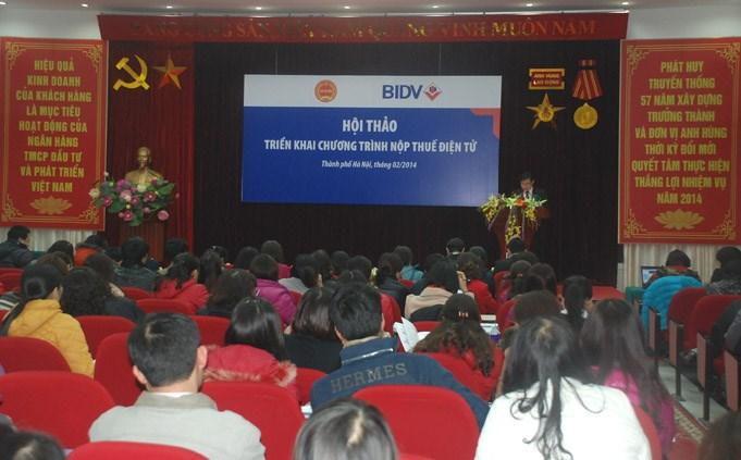 600 doanh nghiệp trên địa bàn Hà Nội được tập huấn nộp thuế điện tử