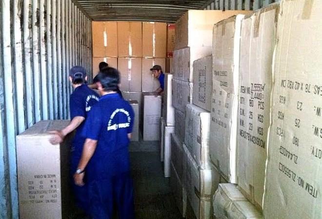 Phát hiện hàng nhập lậu số lượng lớn qua Cảng Cát Lái