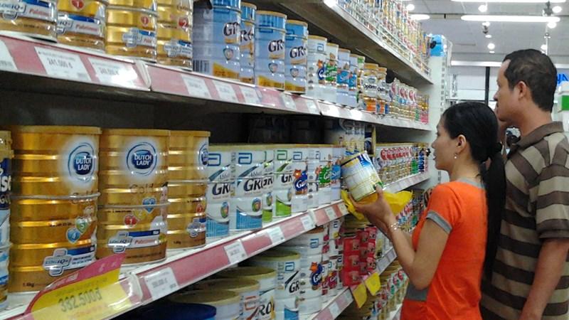 Giá sữa cho trẻ dưới sáu tuổi sẽ thấp hơn và ổn định