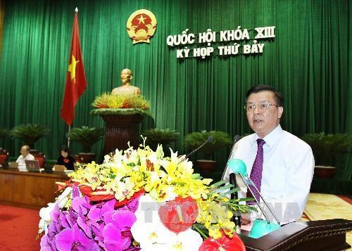 Quốc hội nghe báo cáo quyết toán ngân sách 2012