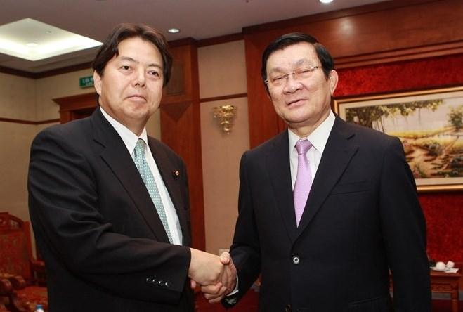 Việt Nam - Nhật Bản thúc đẩy quan hệ đối tác chiến lược ngày càng sâu rộng