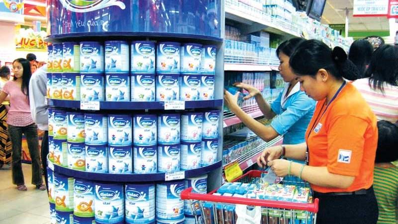 Doanh nghiệp đã hoàn thành thủ tục đăng ký giá sữa