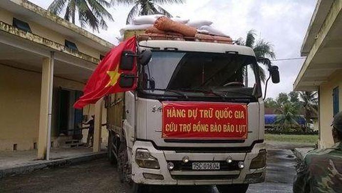 Thêm 3.500 tấn gạo dự trữ quốc gia hỗ trợ nhân dân bị ảnh hưởng bởi thiên tai, mưa lũ