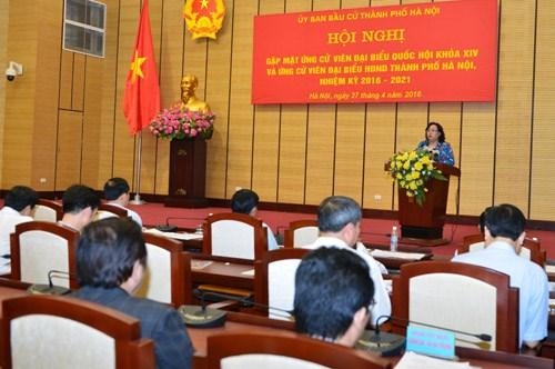 Danh sách 10 đơn vị bầu cử đại biểu Quốc hội khóa XIV tại Hà Nội