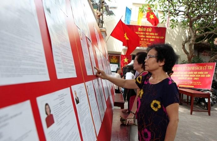Hà Nội công bố danh sách người trúng cử đại biểu Hội đồng Nhân dân