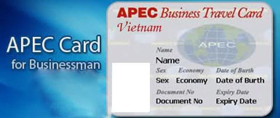 Hướng dẫn thủ tục cấp mới, cấp lại thẻ doanh nhân APEC