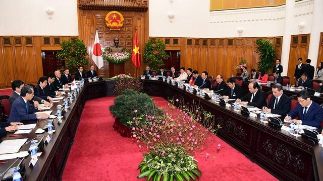 Nhật Bản cam kết cấp vốn vay ODA cho Việt Nam