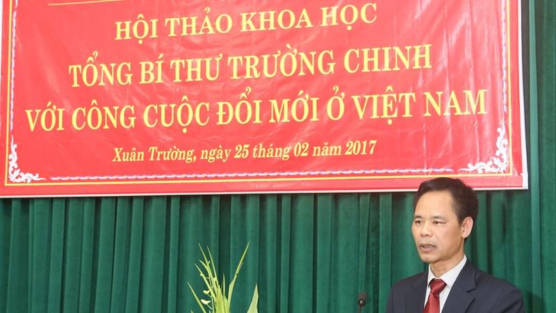 Tổng Bí thư Trường Chinh với công cuộc đổi mới ở Việt Nam