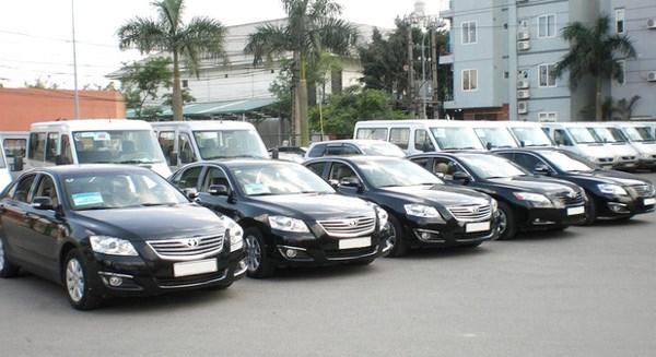 Mua sắm xe ô tô đối với chương trình, dự án sử dụng nguồn vốn nước ngoài