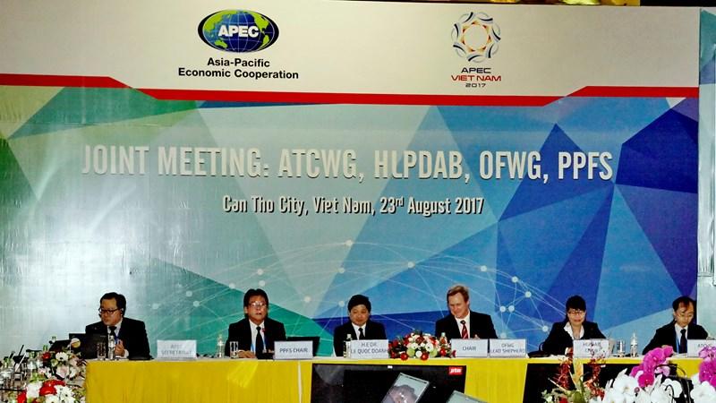 Các nhóm công tác APEC hướng đến Tuyên bố Cần Thơ