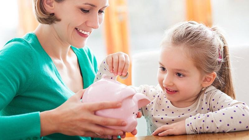 Bài học về tiền bạc cần dạy cho trẻ trước khi lên 7 tuổi