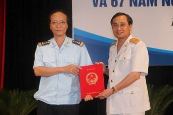 Sinh hoạt chính trị chào mừng 67 năm ngày thành lập ngành Hải quan