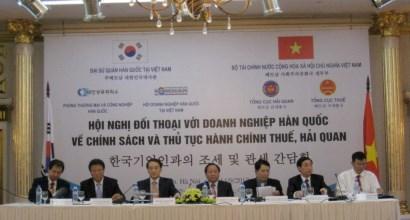 Bộ Tài chính đối thoại với các doanh nghiệp Hàn Quốc về thuế và hải quan