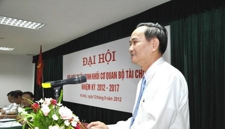 Hội Cựu chiến khối cơ quan Bộ Tài chính tổ chức Đại hội lần thứ II