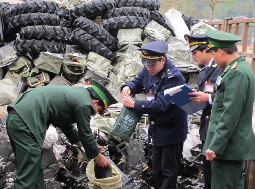 Hải quan - Biên phòng: 10 năm gắn kết bảo vệ chủ quyền biên giới
