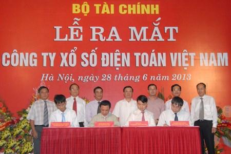 Kỷ niệm ngày thành lập Công ty Xổ số điện toán Việt Nam