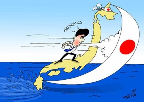 Kinh tế Nhật Bản tỏa sáng nhờ Abenomics