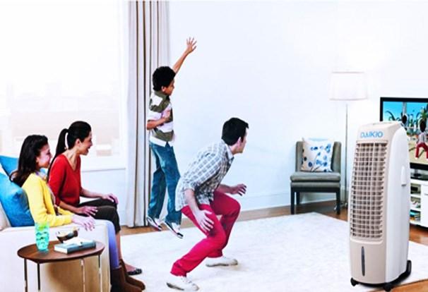 6 lý do nên sắm máy làm mát không khí trong nhà