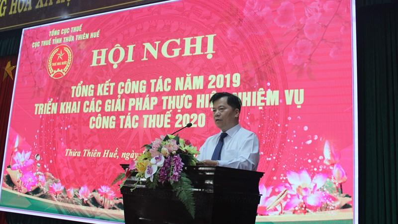 Cục Thuế tỉnh Thừa Thiên - Huế triển khai đồng bộ các giải pháp, hoàn thành nhiệm vụ thu ngân sách nhà nước 2019