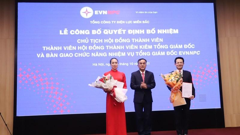 EVNNPC công bố Quyết định bổ nhiệm Chủ tịch Hội đồng thành viên và Tổng Giám đốc