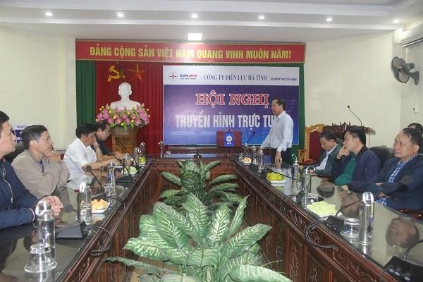 Công đoàn Điện lực Việt Nam thăm hỏi, động viên đoàn viên Công đoàn Công ty Điện lực Hà Tĩnh