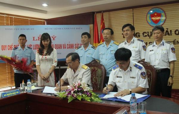 Hải quan và Cảnh sát biển phối hợp chống vi phạm trên biển