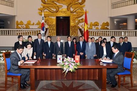 Việt Nam - Hàn Quốc chính thức ký kết Hiệp định FTA
