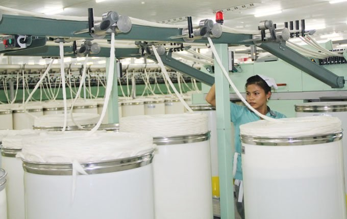 Đón đầu TPP, FTA, các dự án sợi đẩy nhanh tiến độ