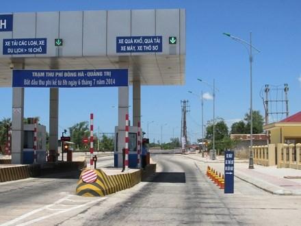Quy định mức thu phí mới qua trạm Đông Hà, Quảng Trị