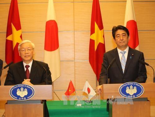 Tuyên bố về Tầm nhìn chung quan hệ Việt Nam - Nhật Bản